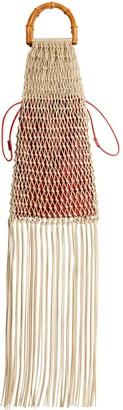Jil Sander Knotted Leather Top Handle Bag