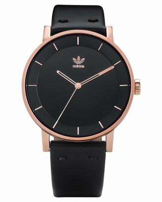 adidas Women's Analogue Quartz Watch with Leather Strap Z08-2918-00