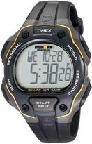 Timex Men's T5K4949J Ironman Traditional 50-Lap Black Resin Strap Watch