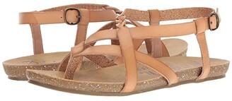 Blowfish Granola-B (Nude Dyecut PU) Women's Sandals