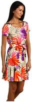 Kate Spade Tropical Orchid Elliana Dress