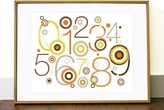 Olli & Lime - Billie 123 Wall Print