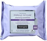 Neutrogena Makeup Remover Cleasing Towelettes, Night Calming, 25 Count (Pack of 6)