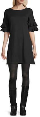 Speechless Juniors 3/4 Sleeve Shift Dress
