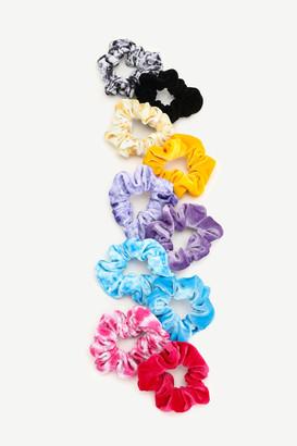 Ardene Large Tie-Dye Velvet Scrunchies
