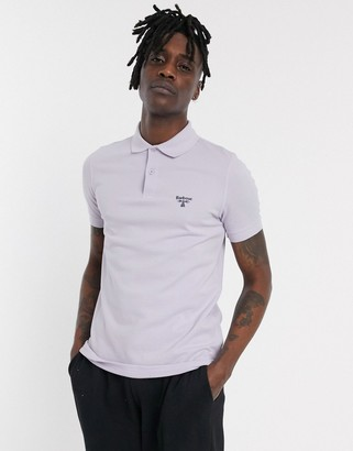 Barbour Beacon polo in purple