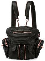 Alexander Wang Marti Mini Leather Backpack, Black