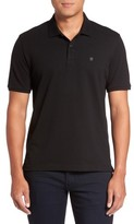 Victorinox Men's 'Vx Stretch' Tailored Fit Pique Polo