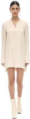 Marni Acetate & Viscose Crepe Tunic Dress