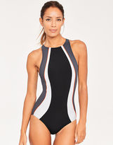 Figleaves Freestyle High Neck Swimsuit