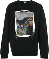 Les Benjamins Van Gogh print sweatshirt