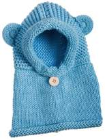 Evergreen Hooded Bear Hat