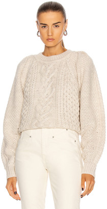 Etoile Isabel Marant Romy Sweater in Ecru | FWRD