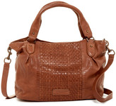 Liebeskind Berlin Dominique Leather Woven Tote