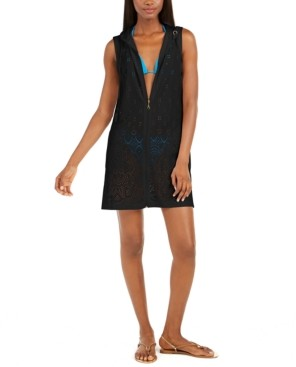 Thumbnail for your product : Dotti Gypsy Gem Crochet Hoodie Cover-Up Women's Swimsuit