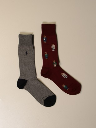 Polo Ralph Lauren Set Of 2 Pairs Of Socks