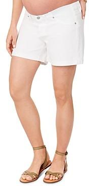 Ingrid & Isabel Mia Denim Boyfriend Maternity Shorts