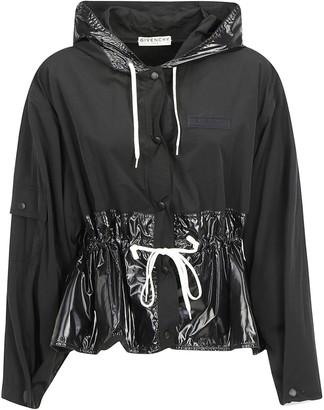 Givenchy Cropped Gathered Jacket