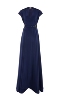 Alexis Mabille Cap Sleeve Gown