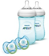Avent Naturally Philips SCD693/24 Natural Bottle Gift Set - Teal