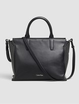 Calvin Klein Keyla Leather Tote Bag