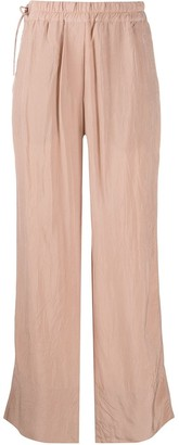 Acne Studios High Waist Loose Fit Trousers