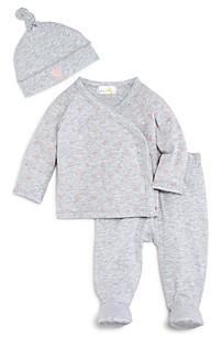 Bloomie's Girls' Take Me Home Shirt, Footie Pants & Hat Set - Baby