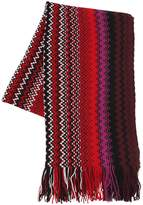 Missoni Jacquard Multicolor Wool Scarf