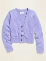 Old Navy V-Neck Cardigan Sweater for Girls