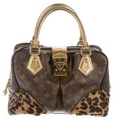 Louis Vuitton Monogram Leopard Adele Satchel