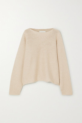 LAUREN MANOOGIAN Alpaca And Organic Cotton-blend Sweater - Beige