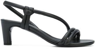 Del Carlo Open Toe Low Heel Sandals
