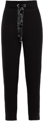 DKNY Cropped French Terry Track Pants