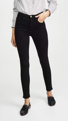 Frame Ali High Rise Sateen Jeans