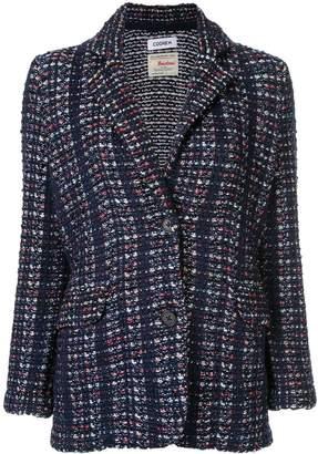 Coohem tweed blazer jacket
