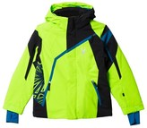 Spyder Green and Black Challenger Ski Jacket