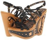 Jessica Simpson Karlier (Black Breached SNake) - Footwear