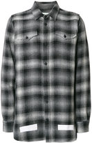 Off-White oversized check shirt