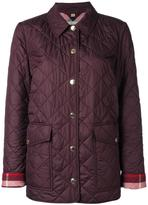 Burberry 'Westbridge' jacket - women - Cotton/Polyester - S