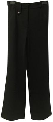 Sonia Rykiel Black Polyester Trousers