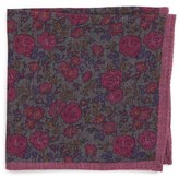 Ted Baker Moody Floral Wool Pocket Square