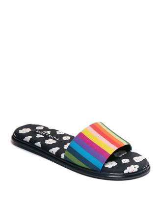 Alice + Olivia Taleen Slide Flat Sandals