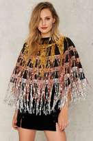 Jaded London All That Sequin Cape