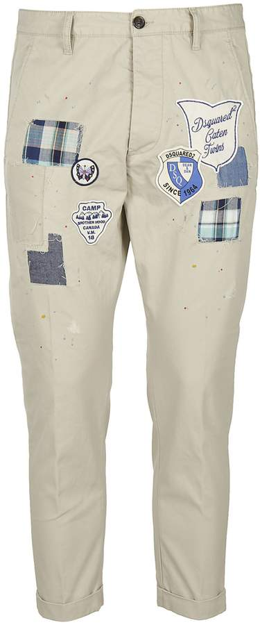 DSQUARED2 Patched Trousers
