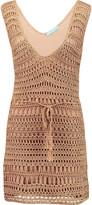 Melissa Odabash Tiffany crocheted mini dress
