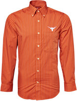 Antigua Men's Long-Sleeve Texas Longhorns Button-Down Shirt