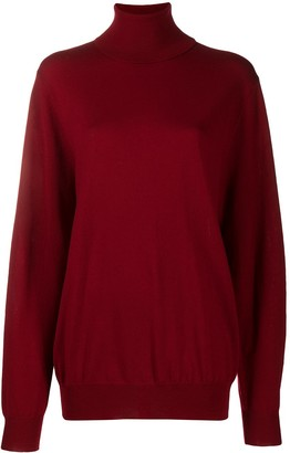 Barbara Bui Merino Roll-Neck Jumper