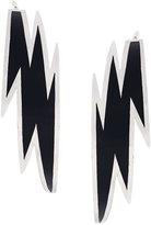 DSQUARED2 lightning bolt earrings