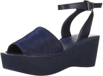 Kenneth Cole Reaction Women's Dine with Me EVA Platform Sandal Ankle Strap Wedge