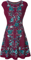 Roberto Cavalli floral flared dress - women - Polyester/Viscose - 44
